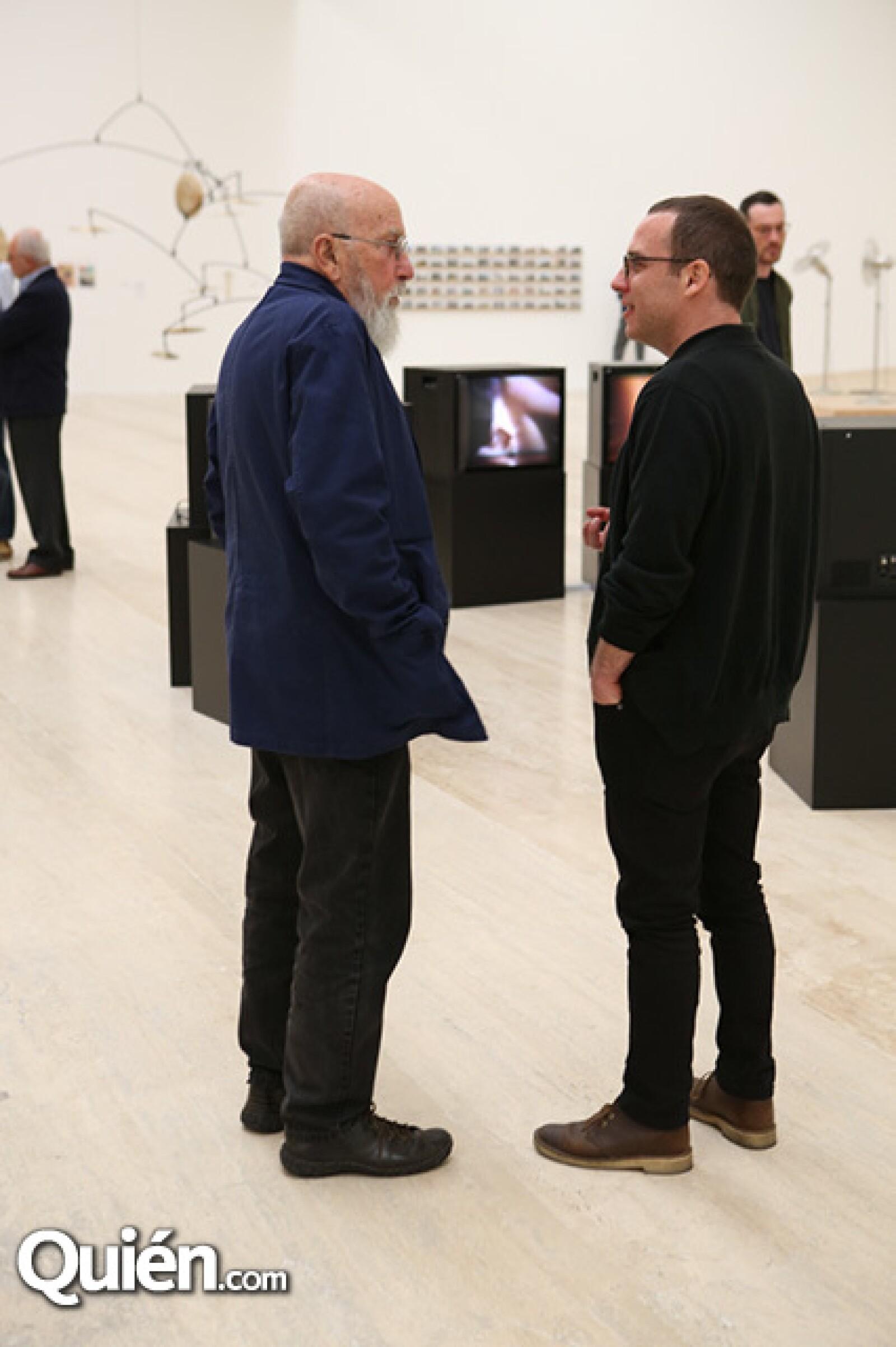 Rafael Ferrer y Alejandro Cesarco
