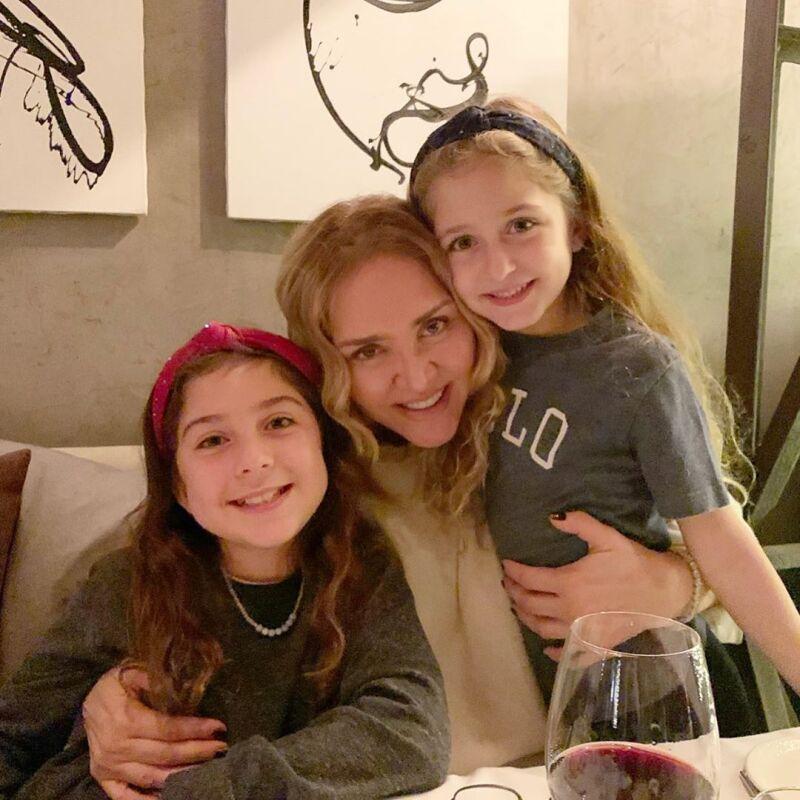 Valentina, Angélica y María Ignacia
