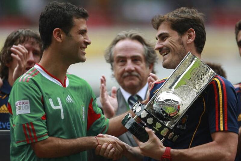 Rafael Marquez Iker Casillas