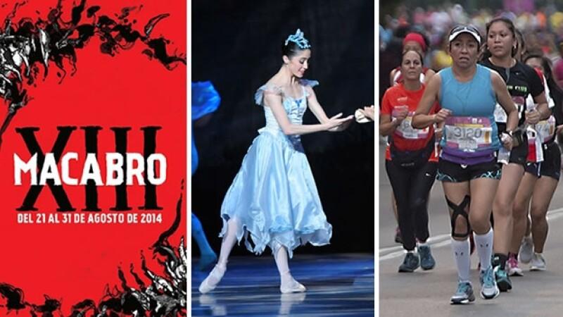 Cine, Danza, Deporte y otras actividades que puedes realizar este fin de semana.
