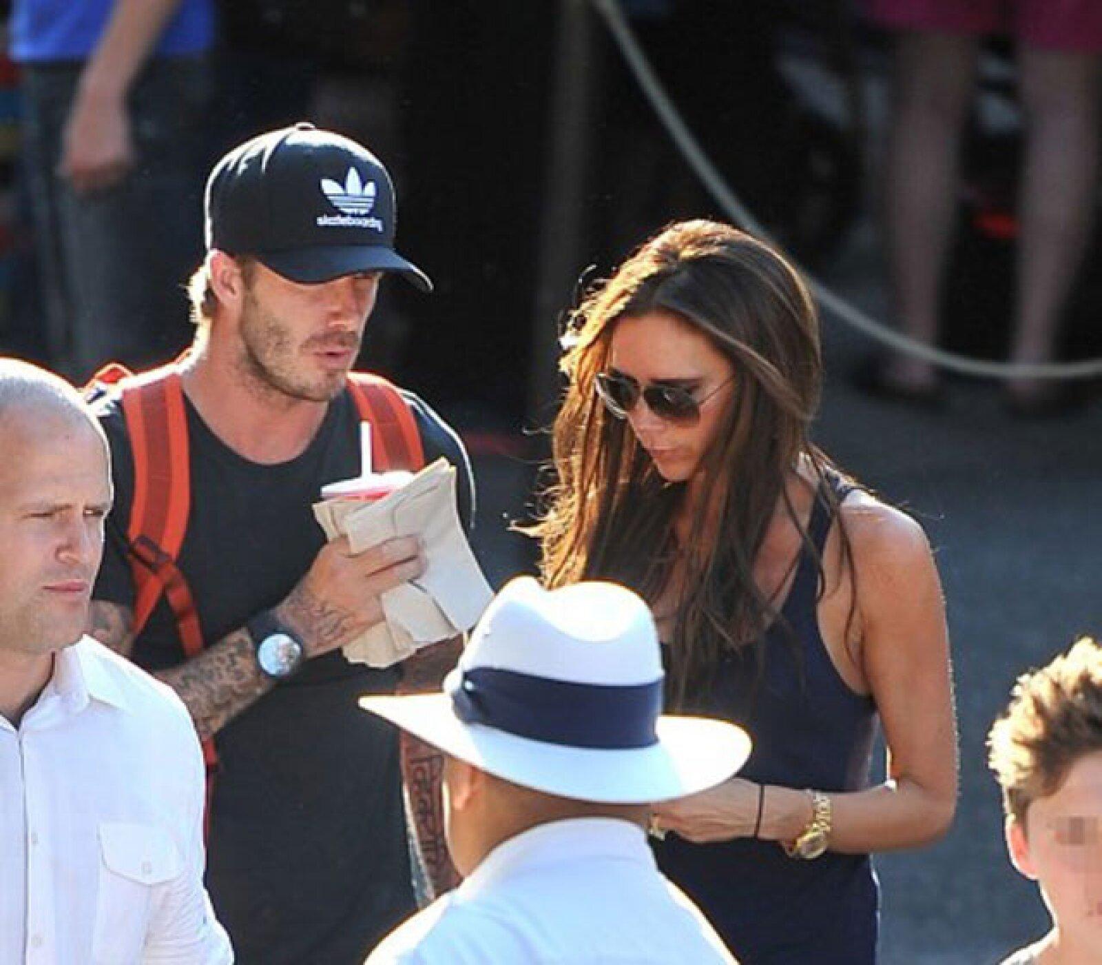 David y Victoria Beckham.