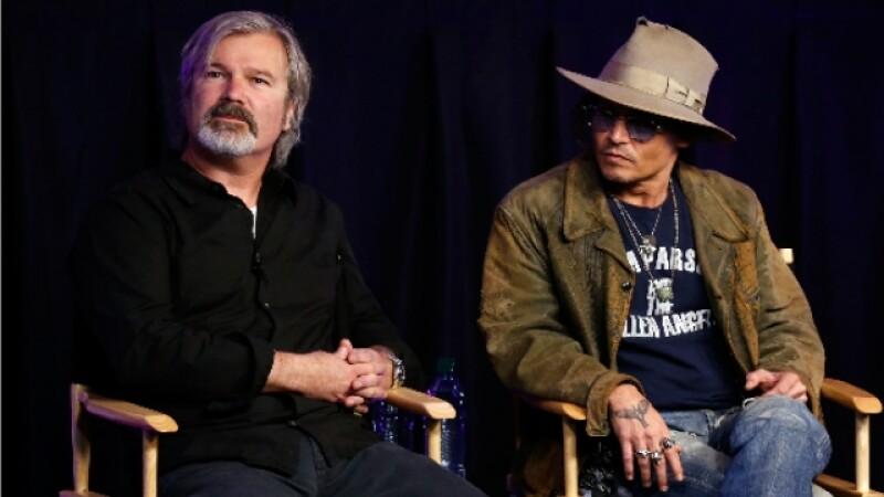 Gore Verbinski y Johnny Depp