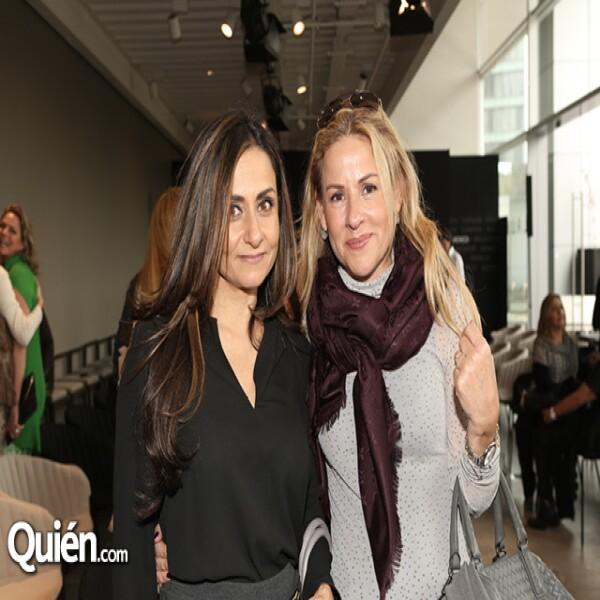 Viviana Said y Eileen Macareña