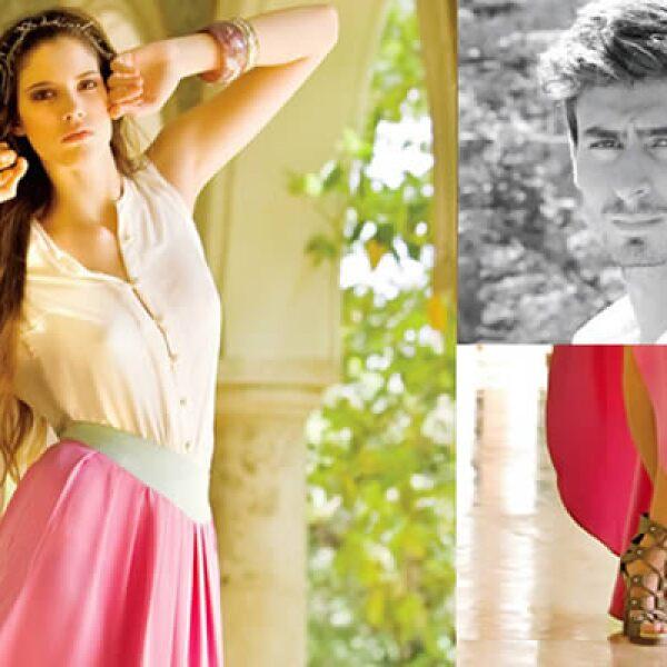 La modelo australiana Miranda Kerr usa los diseños de Sergio Goyri, quien además ha participado en la exposición BIJOUX de Bárbara Berger.