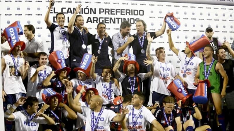 San Lorenzo se corona campeon del futbol argentino