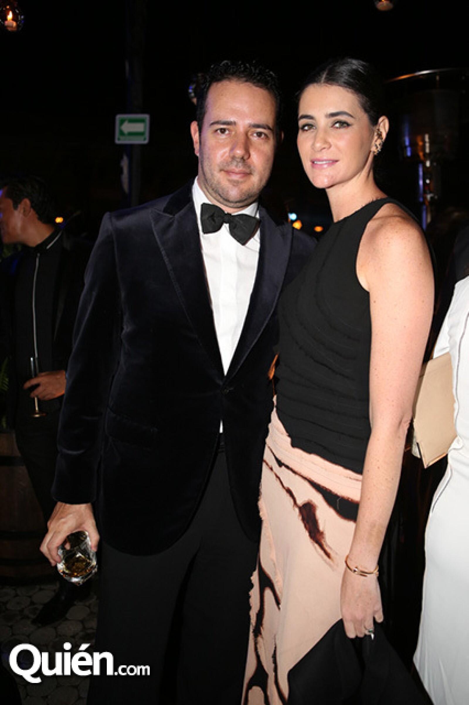 Héctor Pacheco y Joanna Faria