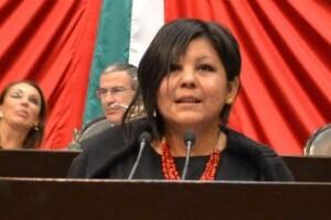 Mota Ocampo durante una intervención en la tribuna de San Lázaro (Foto: Cuartoscuro/Archivo)