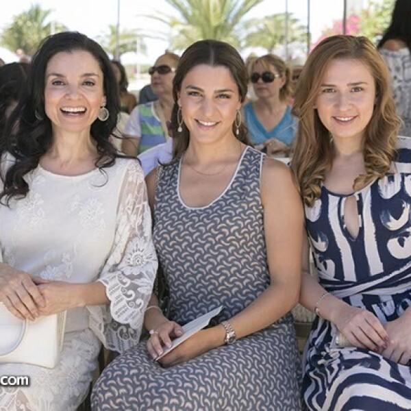 Monica Cetto,Alejandra Gutiérrez y Denisse Cetto