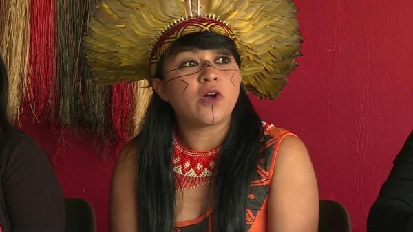 Marchar por sus derechos, lideresas indígenas de Brasil convocan a protestar