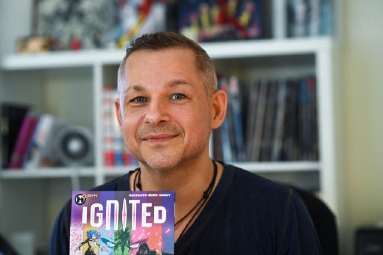 'Ignited', el comic que convierte en héroes a jóvenes sobrevivientes de tiroteos