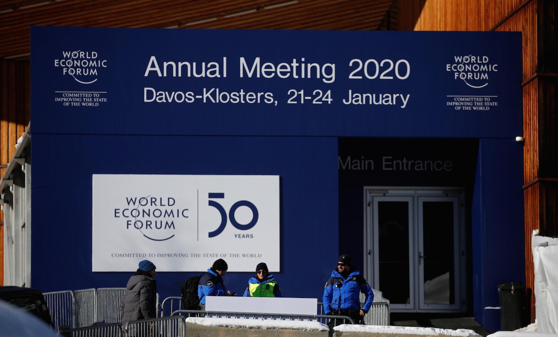 WEF 2020 - World Economic Forum - 2020 - Davos - Suiza