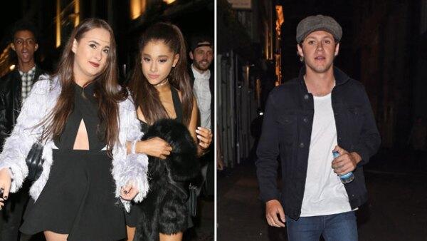 Ahora que estuvo en Londres, la cantante no perdió la oportunidad de salir con el integrante de One Direction, aunque sólo en plan de amigos.