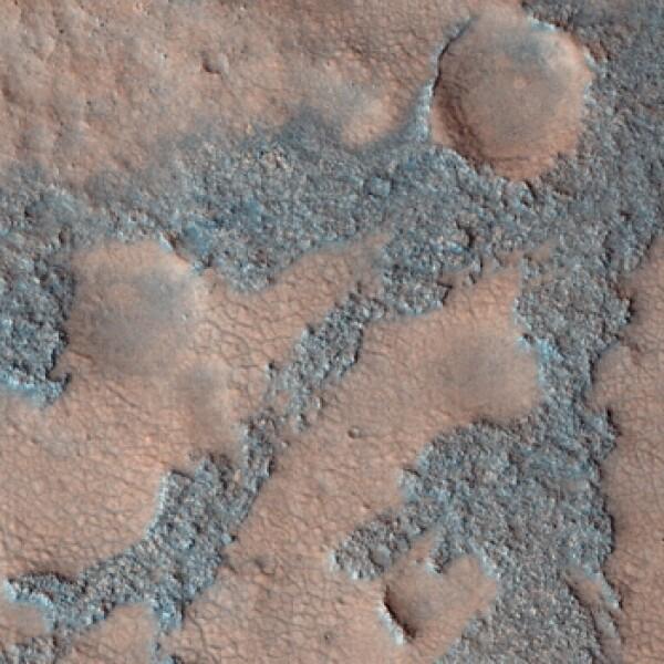 Marte Mars Mars Reconaissance Orbiter Cráter Antoniadi 2009 NASA