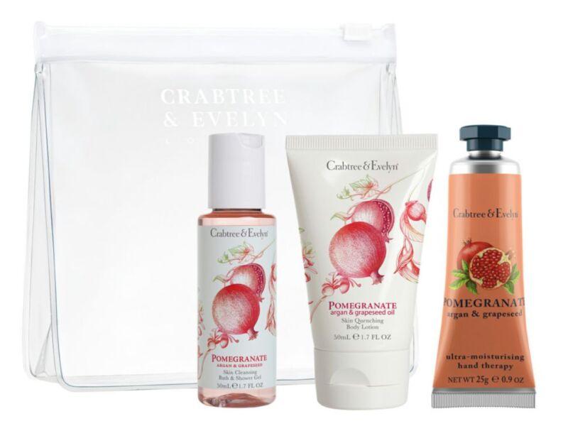 Set de baño Pomegranate Argan & Grapeseed Oil de Crabtree & Evely