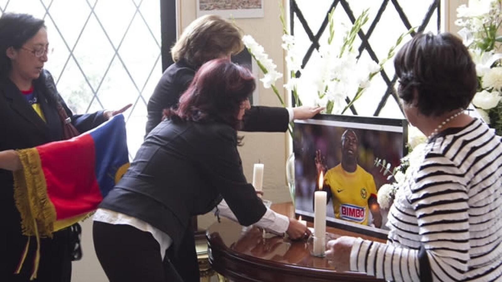 La embajada de Ecuador recuerda a Christian Benítez