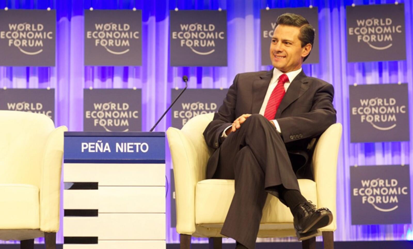 El mandatario mexicano  dijo durante su participación en el Foro, que la violencia no es exclusiva de México, sino que está presente en toda AL.