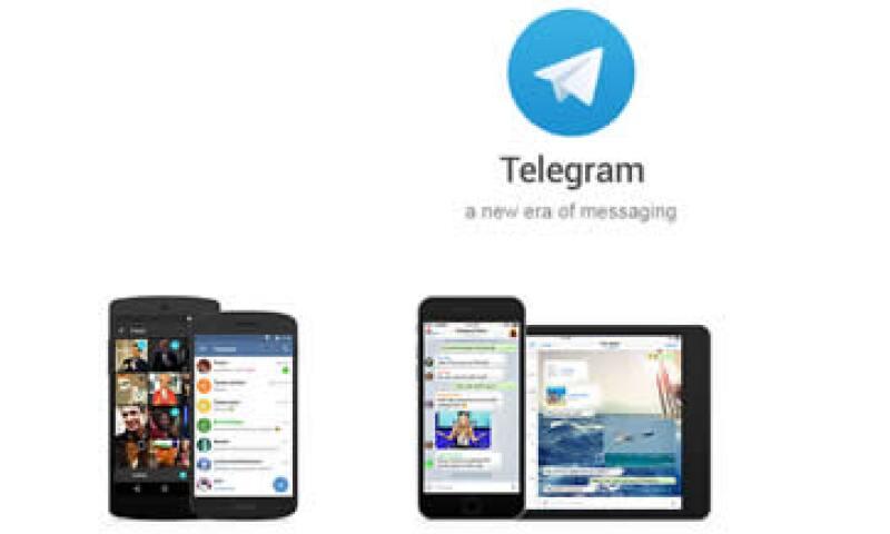 Telegram, con sede en Berlín, cuenta con dos capas de cifrado, lo que afirma otorga mayor seguridad a sus comunicaciones. (Foto: Cortesía/Telegram )