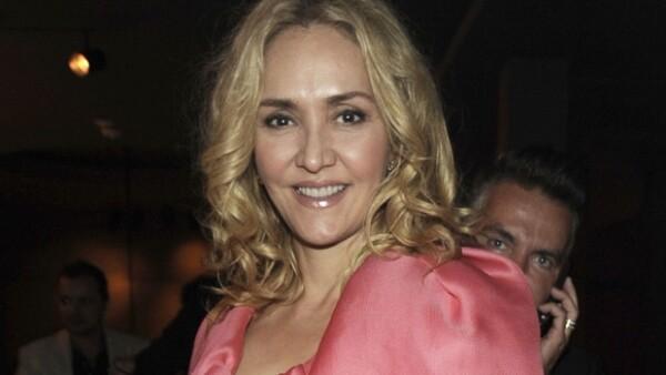 Angélica Fuentes ocupó el lugar número 5 del listado.