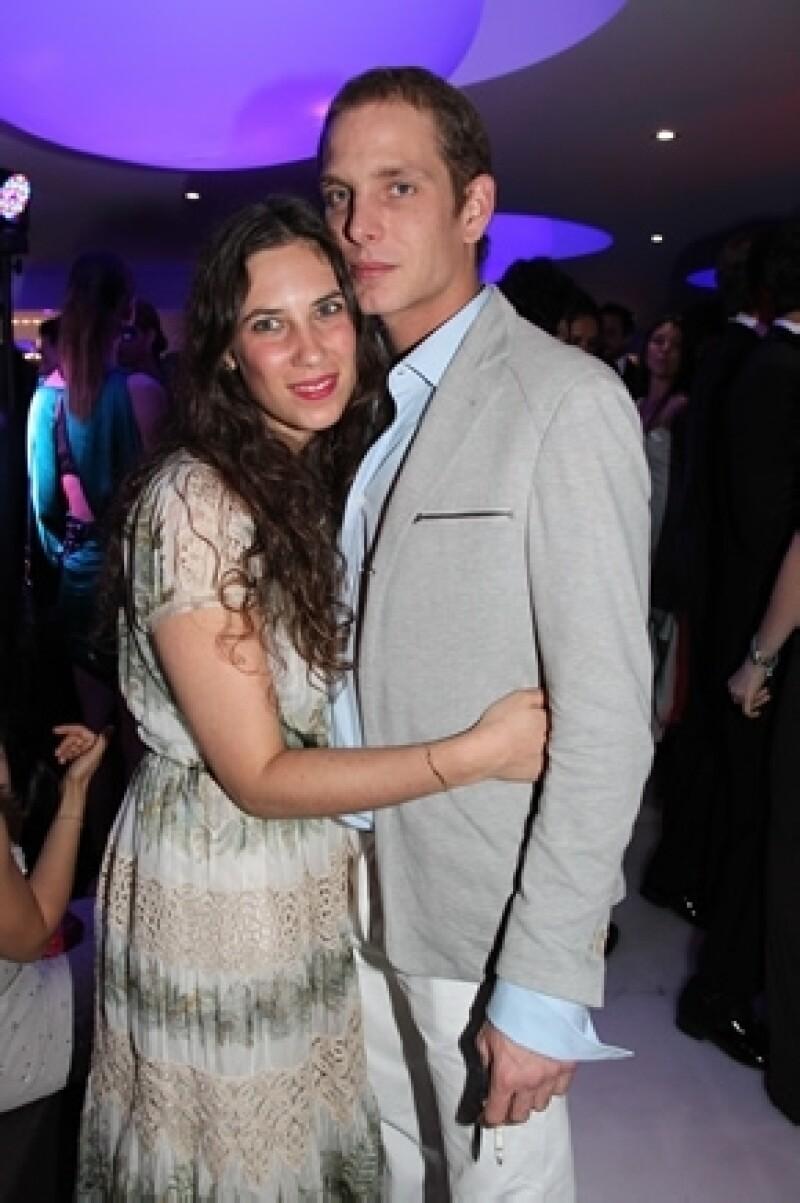 Tatiana y Andrea en una fiesta con motivo del Festival Internacional de Cannes en mayo pasado.