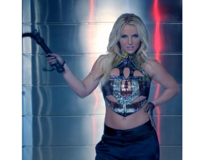 Britney Spears compartió algunas fotos de su video a su cuenta de Instagram.