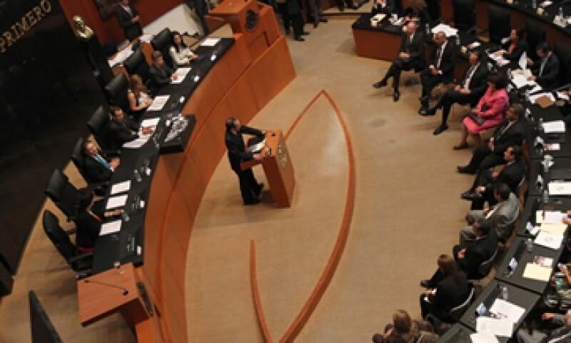 La Mesa Directiva del Senado de la República decretó un receso en la sesión de este jueves. (Foto: Notimex)