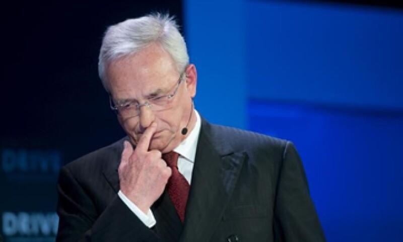 Martin Winterkorn renunció la semana pasada tras casi nueve años al frente del fabricante de autos más grande de Europa. (Foto: Reuters )