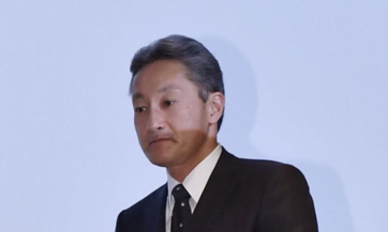 El presidente y CEO de Sony, Kazuo Hirai, dijo que este año será de reestructuración en la compañía. (Foto: Reuters)