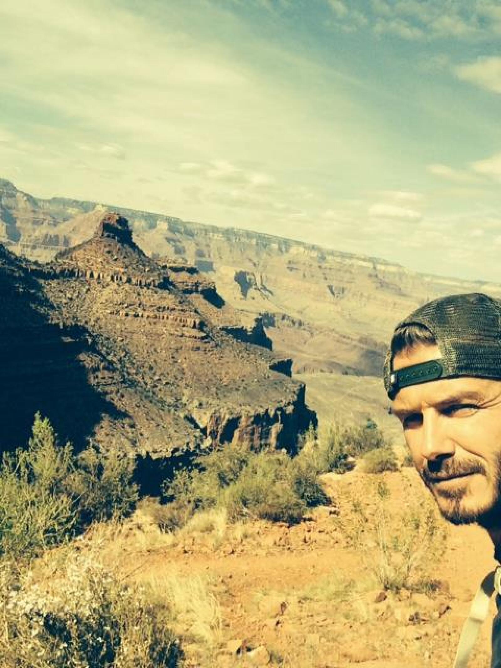 David Beckham estuvo en Utah celebrando el cumpleaños de su esposa, Victoria Beckham.