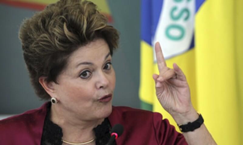 Dilma Rousseff señaló que su país quiere desarrollar tecnología ante el desafío de la producción. (Foto: Getty Images)