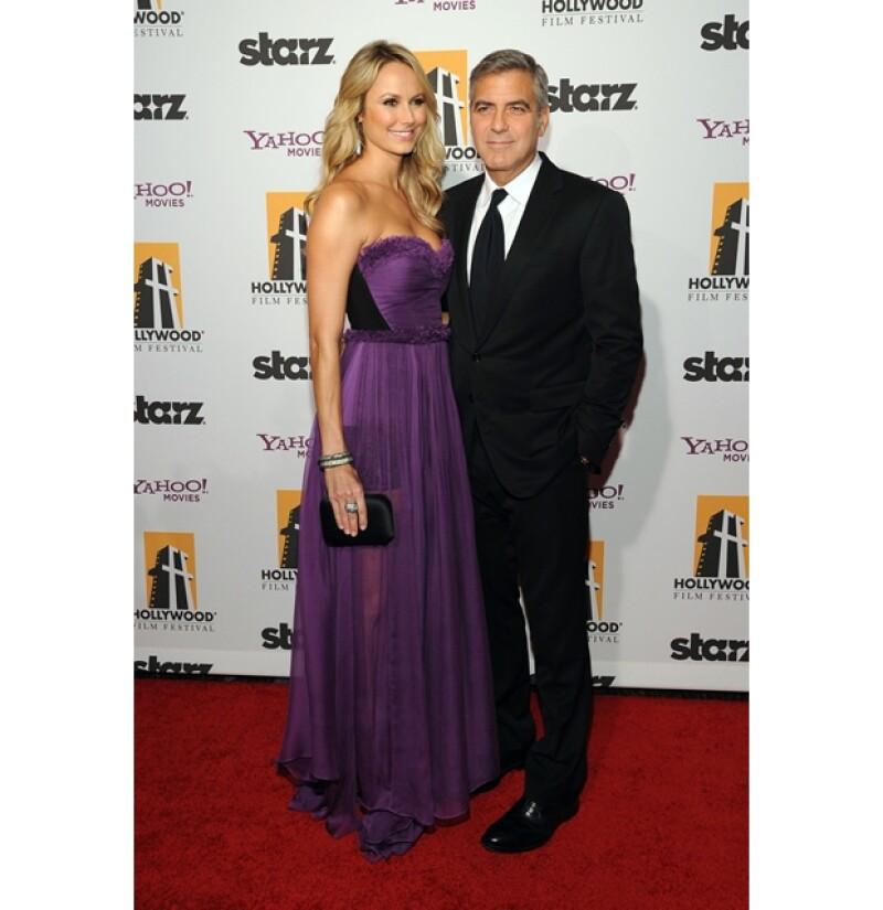 Stacy Keibler, de 32 años, es la nueva novia de George Clooney.