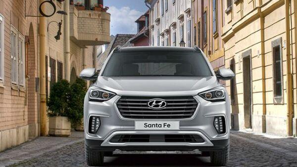 Hyundai modelo Santa Fe