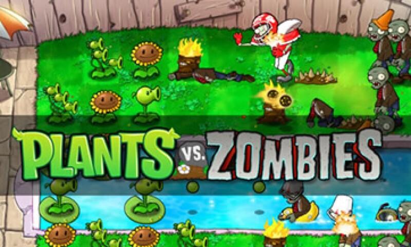 Plants vs. Zombies es uno de los titulos que aparece en Infinitum Games. (Foto: Cortesía PopCap Games)
