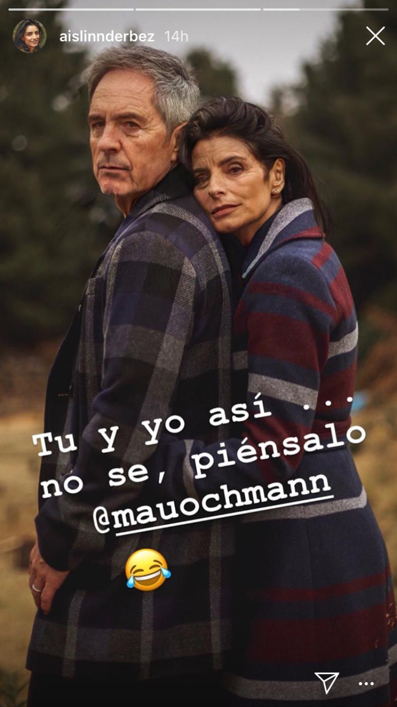 Aislinn Derbez y Mauricio Ochmann