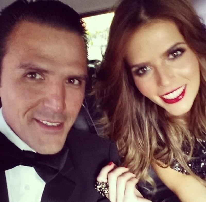 Billy y Claudia van juntos a todos los eventos.