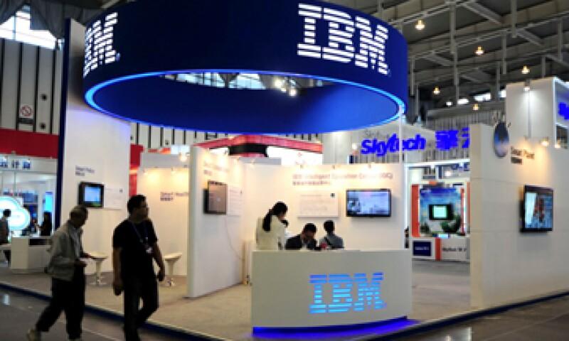 Los ingresos por software fueron el único punto alentador en los resultados de IBM por segmento. (Foto: Reuters)