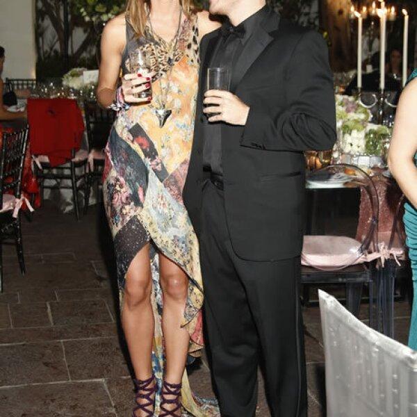 Bianca Prosinsky y Álvaro Muñoz