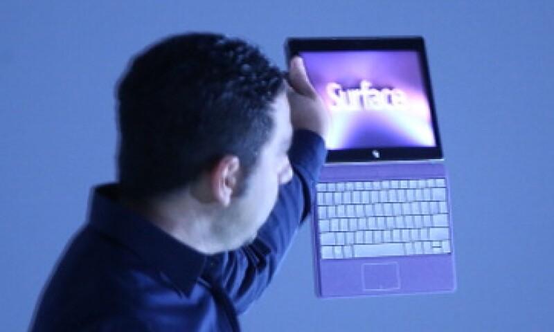 La tableta tiene el sistema Windows 8.1, pero no se siente totalmente intuitivo. (Foto: Getty Images)