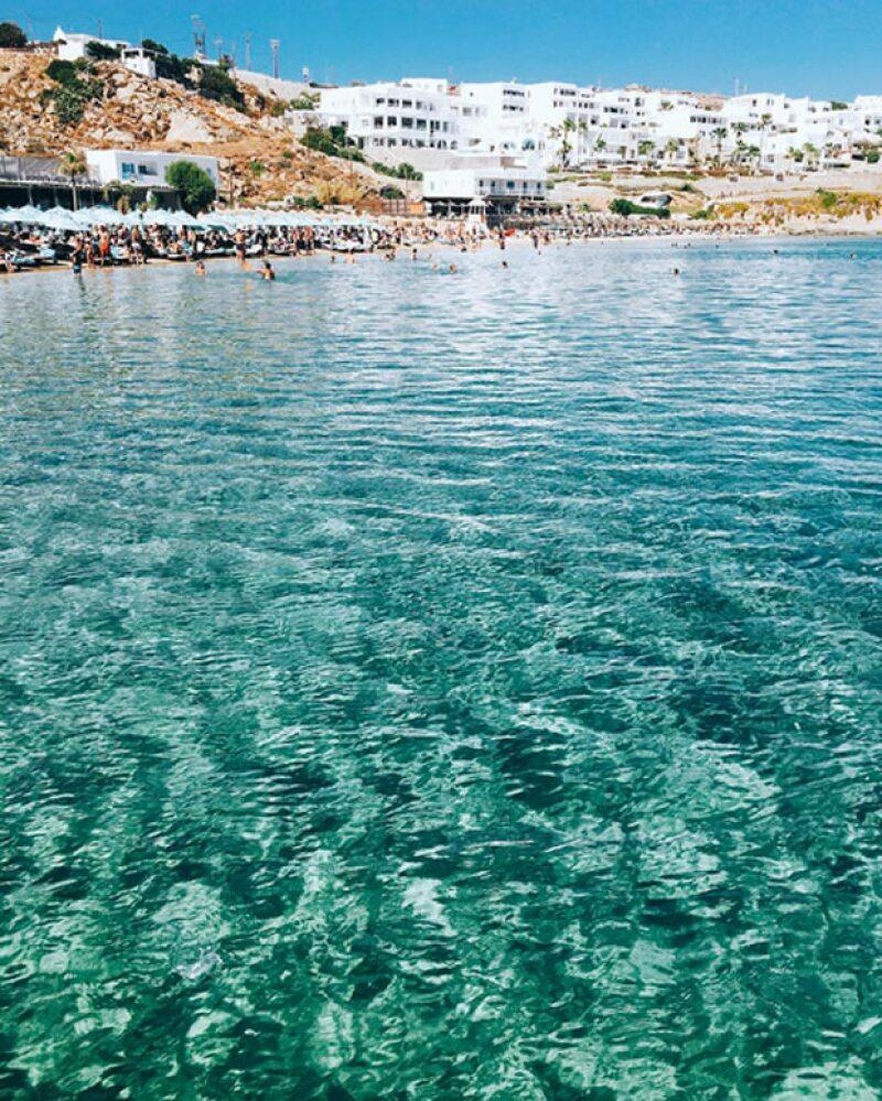 Michelle Salas compartió esta imagen desde Grecia.