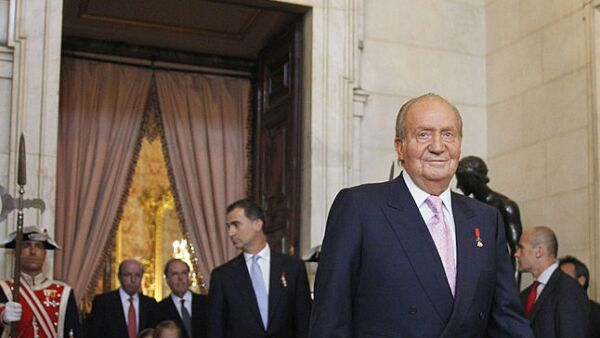 Juan Carlos de España, reina Sofía, Felipe VI y Letizia