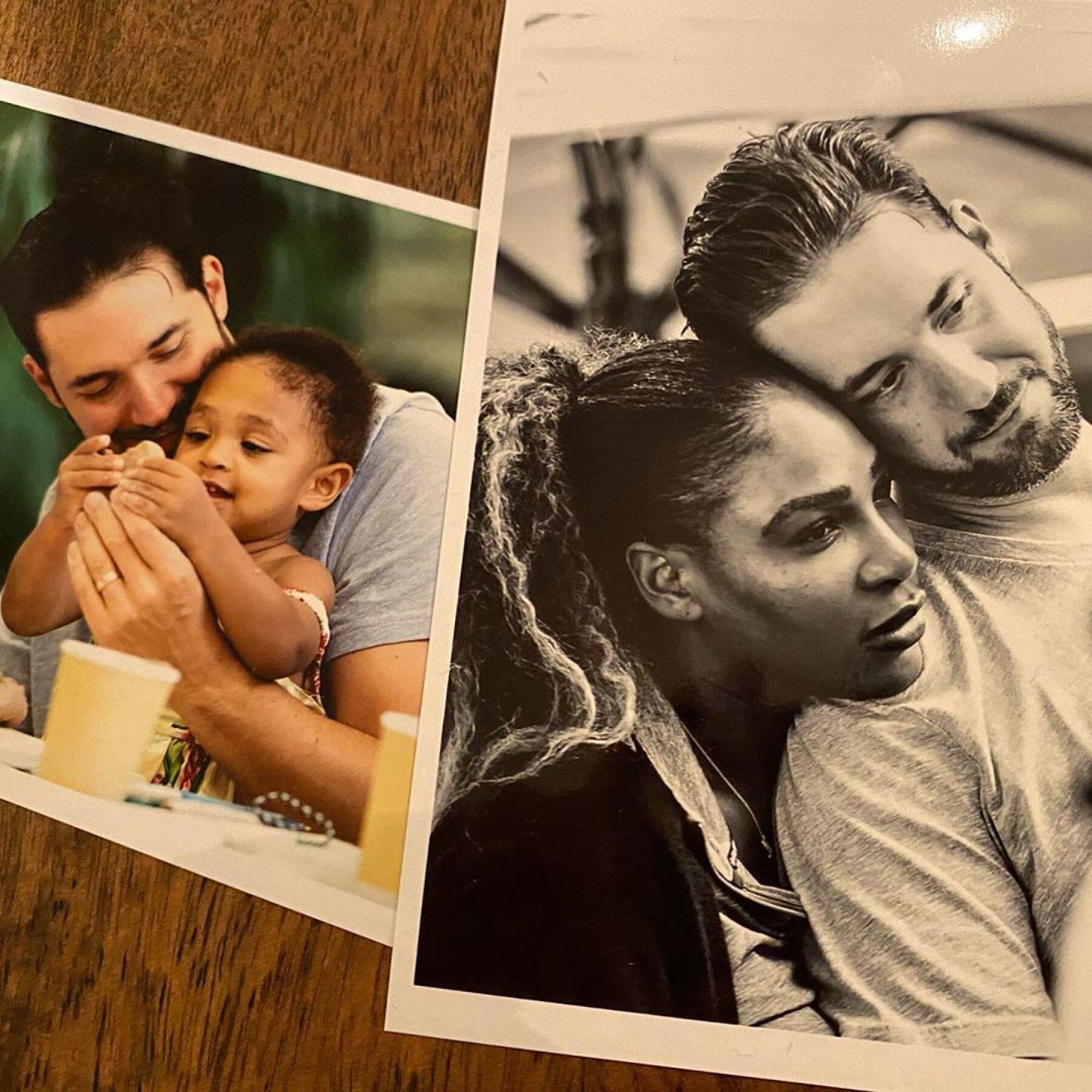 Alexis Ohanian y Serena Williams.