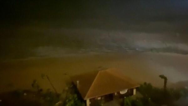 Así tocó tierra 'Laura', el implacable huracán en Luisiana y Texas