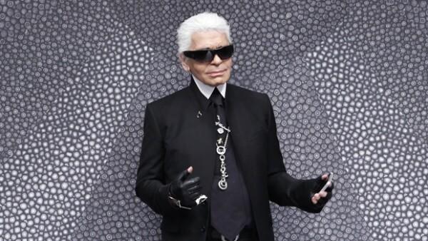 Karl Lagerfeld, un genio de la moda.