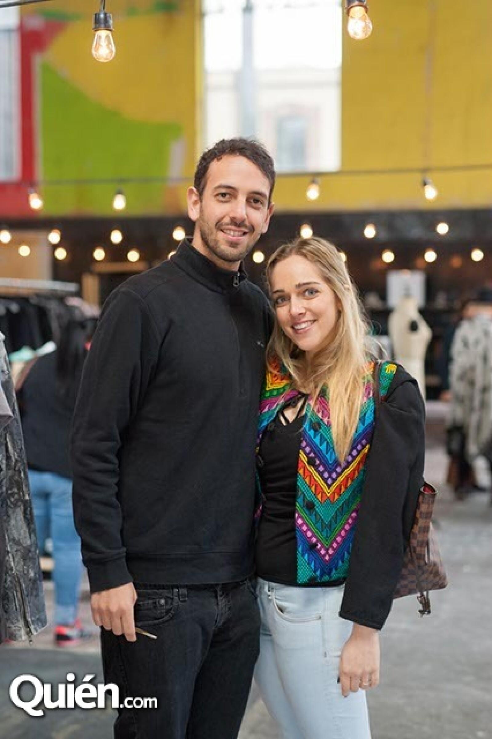 Daniel Sadovich y Sonia Mussan