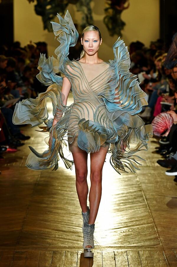 Iris Van Herpen show, Runway, Spring Summer 2018, Haute Couture Fashion Week, Paris, France - 22 Jan 2018