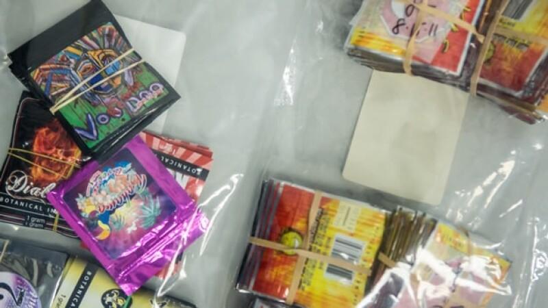 paquetes de drogas sinteticas