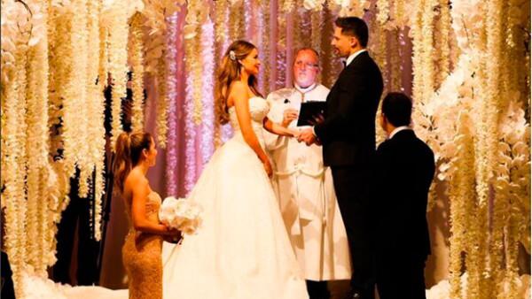 La pareja se casó este domingo por la tarde en una espectacular ceremonia celebrada en el resort The Breakers Palm Beach.