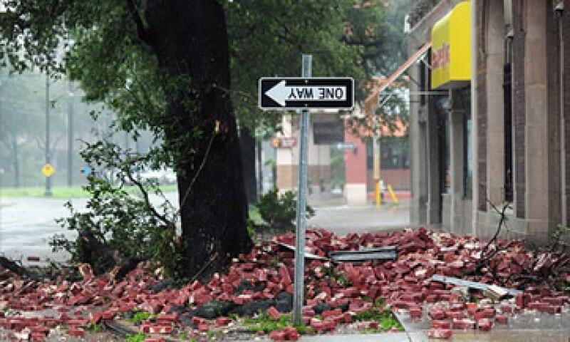 El huracán 'Isaac' ha sido clasificado como categoría 1 con corrientes de viento de 80 millas por hora.  (Foto: Cortesía CNNMoney)