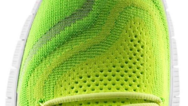 El corte es un tejido de hilos de poli�ster que se ajusta a la forma del pie