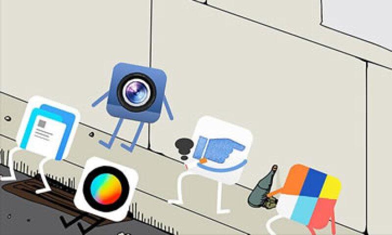 No todas las apps de Facebook han sido tan exitosas como Messenger. (Foto: CNNMoney)