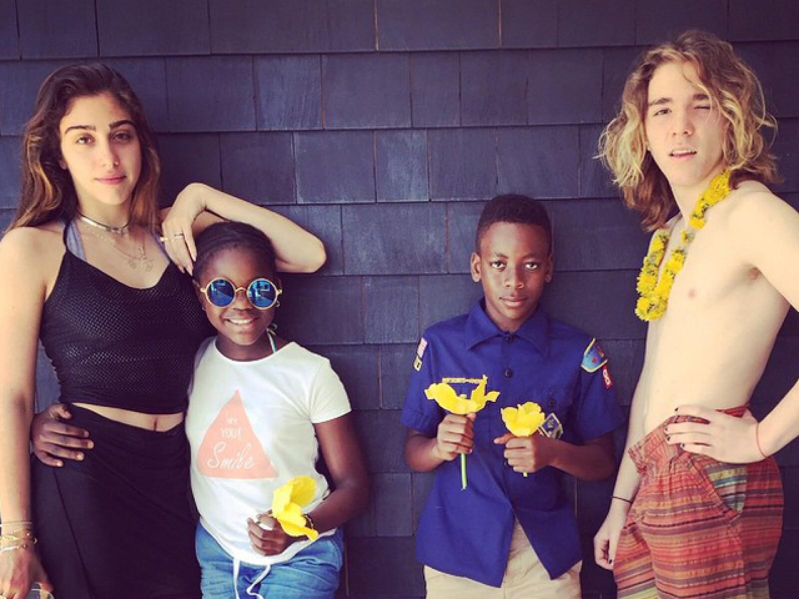 Los hijos de Madonna